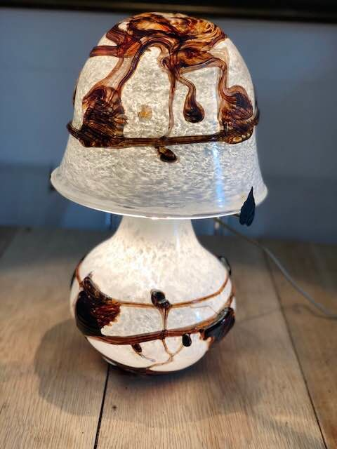 Jean-Claude Novaro (1943-2014) - mushroom lamp - signed and dated 2009