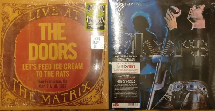 Two albums from The Doors || Live At The Matrix 1967 + Absolutely Live | & Two albums from The Doors || Live At The Matrix 1967 + Absolutely ...