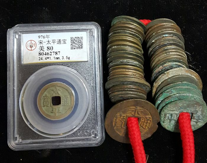 China - Lot various coins of Different Dynasties (60 pieces)