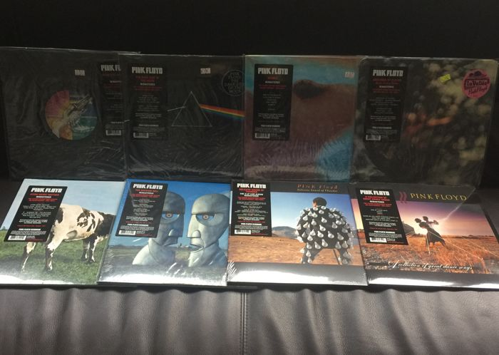 Pink Floyd : Lot of 8 LP Albums