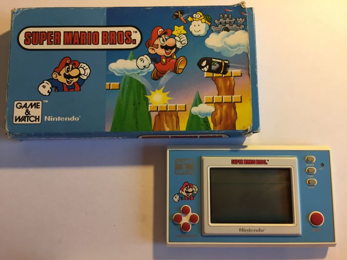Game & Watch - Super Mario Bros - New Wide Screen - YM-105