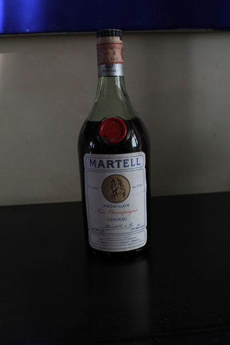 Cognac Martell Médaillon VSOP - Bottled early 1960s