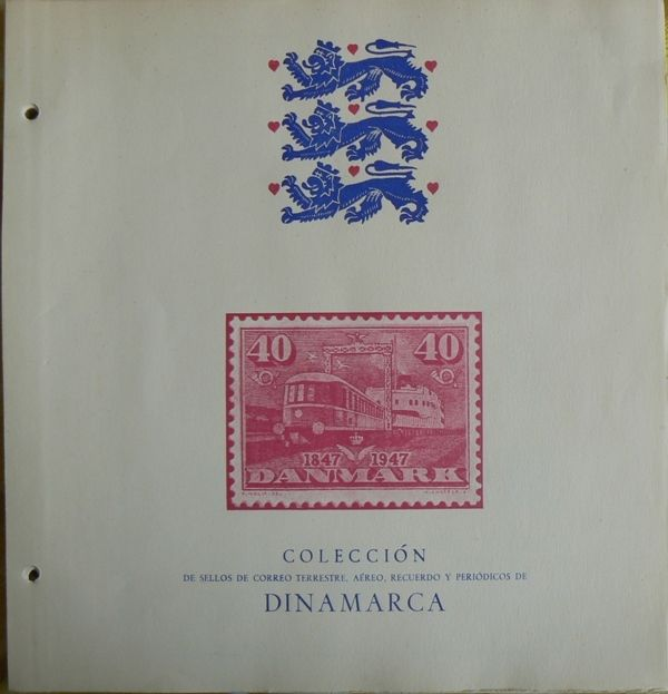 Denmark 1851/1970 - Collection stamps, series