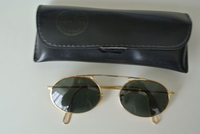 Ray-Ban - Ray-Ban Oval Bausch en Lomb Sunglasses - Vintage