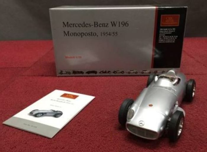 Cmc scale mercedes benz f w r streamliners no gp