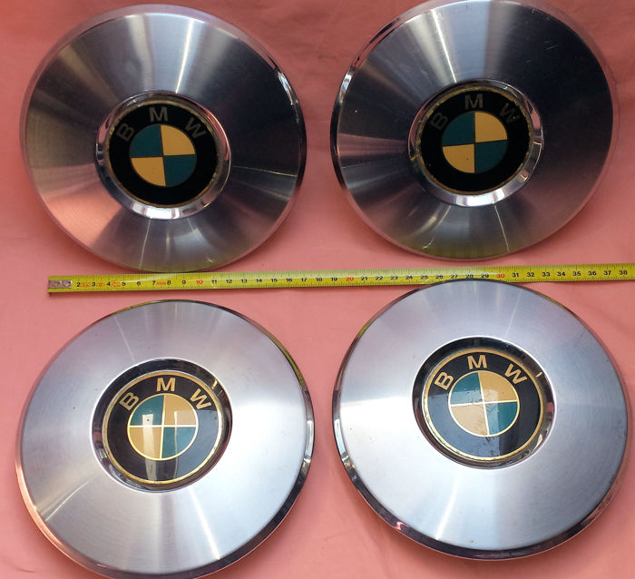 BMW hubcaps - Set of 4 from the 1970s