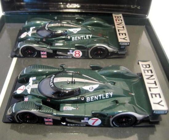 MiniChamps - 1:43 - Bentley Speed 8 #7 & #8 - 2003 - Mint Boxed