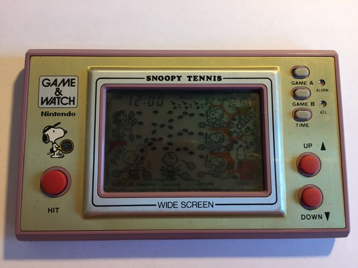 Game & Watch - Snoopy Tennis - Wide Screen - SP-30