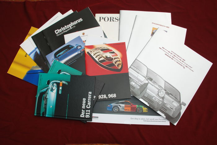 PORSCHE Visuell and Porsche documentation