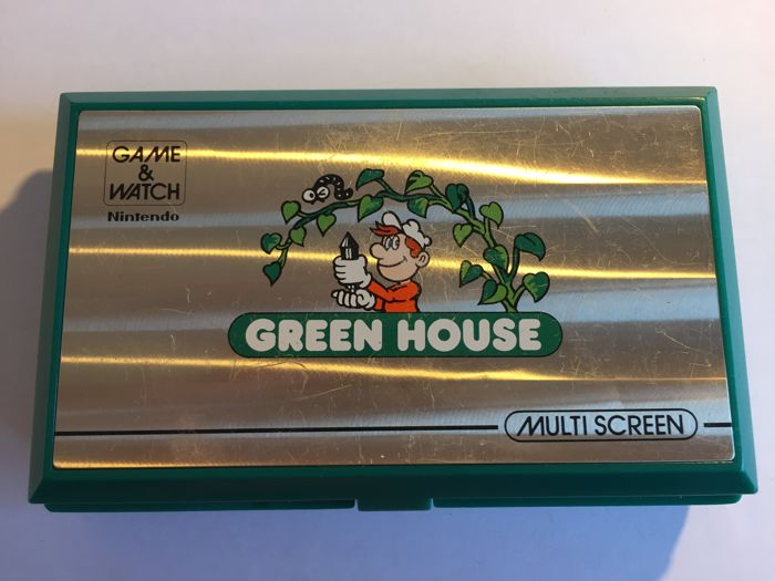 Game & Watch - Green House - Multi Screen - GH-54