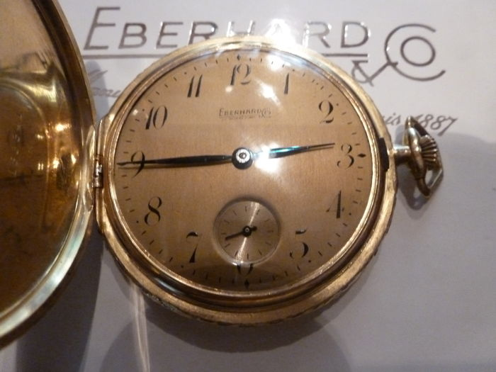 Eberhard & Co. -  savonette full hunter - 185341 - Unisex - 1901 - 1949