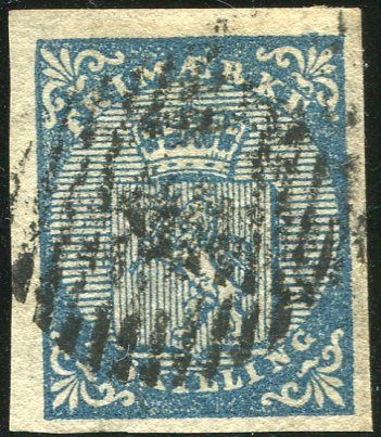 Norway 1855 - First Issue, Coat of arms - Yvert 1