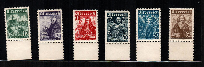 Austria 1890/1920 - Selection of some series of the period