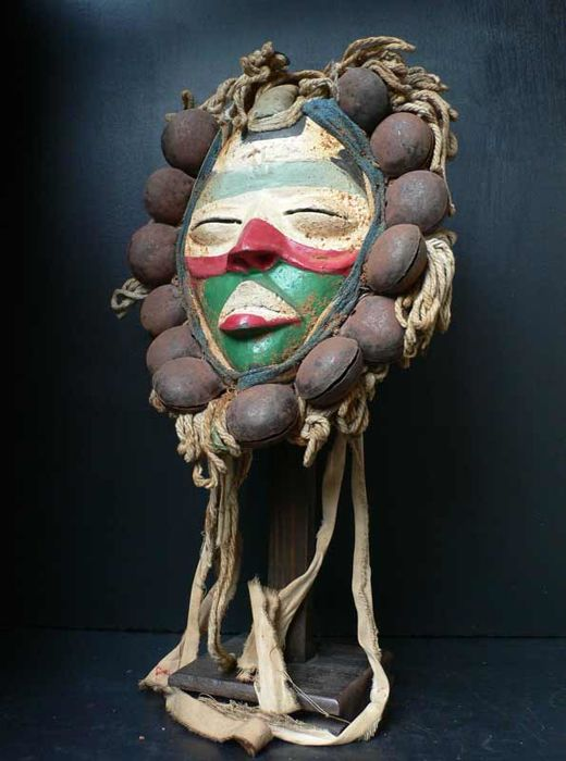Mask of a dancer - DAN - Ivory Coast