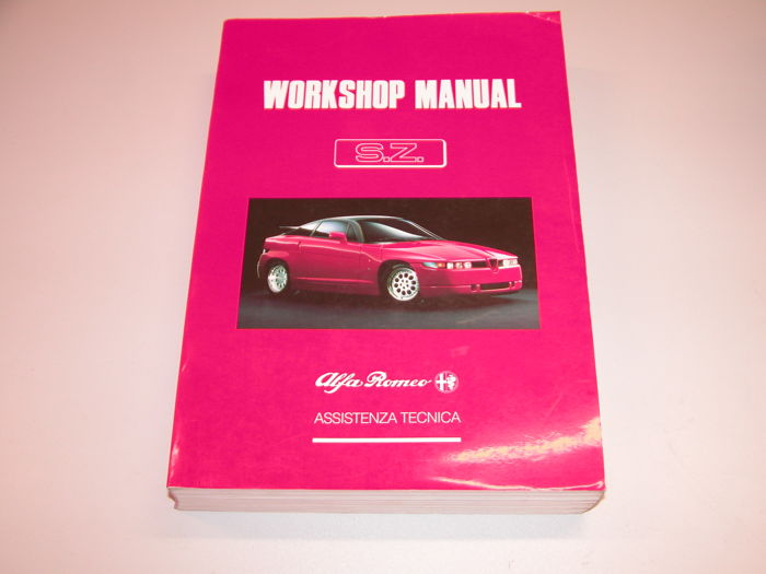 Books - Alfa Romeo SZ workshop manuel  - 1990-1989 (1 items)