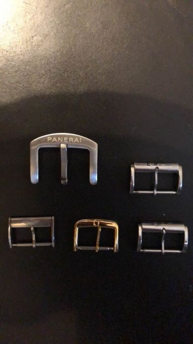 Panerai Omega and Breitling Watch Buckles