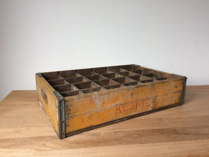 Old wooden Coca-Cola / Komol / Noca Cola crate