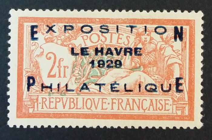 France 1929 - Stamp Exhibition of Le Havre - Yvert 257A