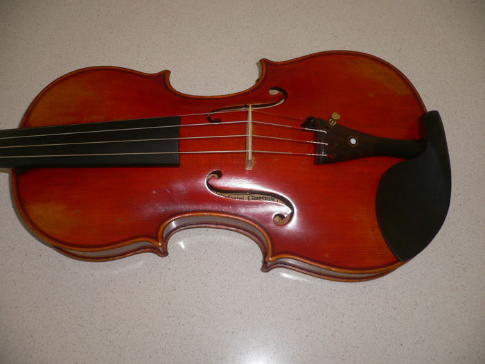 Beautiful Italian violin by GIUSEPPE STEFANINI from 1950 with certificate of authenticity!