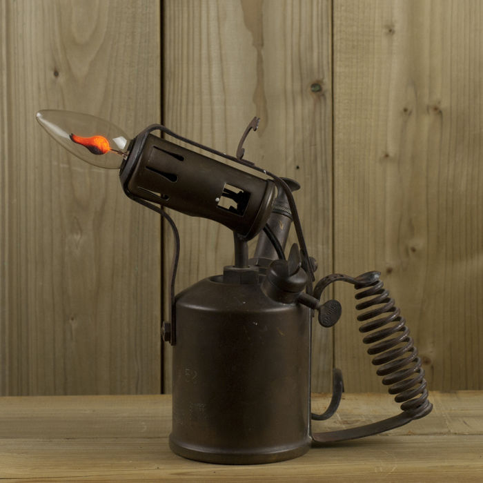 Lampen steampunk industrieel retro