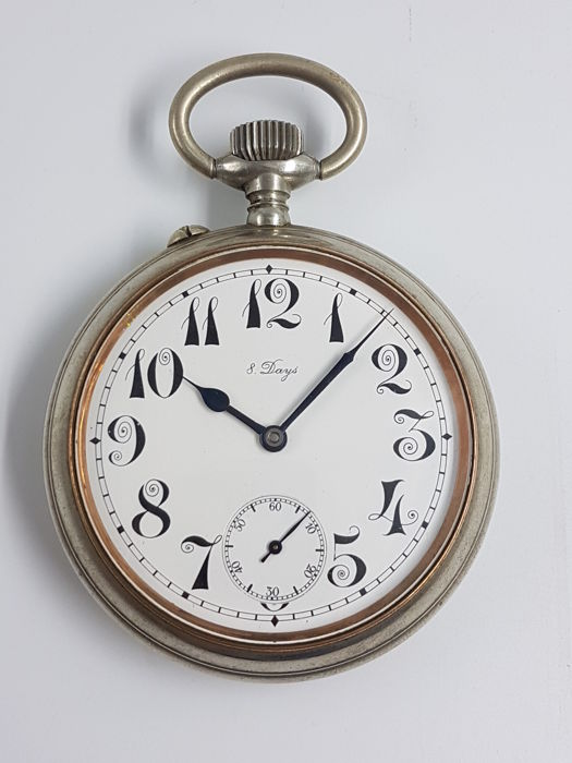 Giant Fabriqué pour Vacheron & Constantin 8 days - Pocket watch - 106326 - Men - 1901-1949