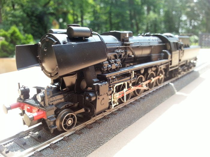 Märklin H0 - 34158 - Steam locomotive with tender - Serie 56 der CFL - CFL
