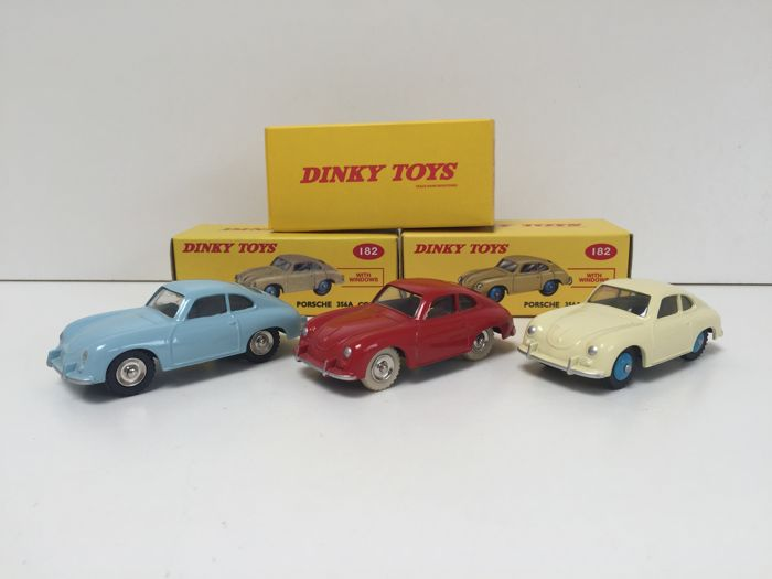 Models/ Toys - Dinky Toys/Atlas - Porsche 356A Coupe - 2011-2017 (3 items)