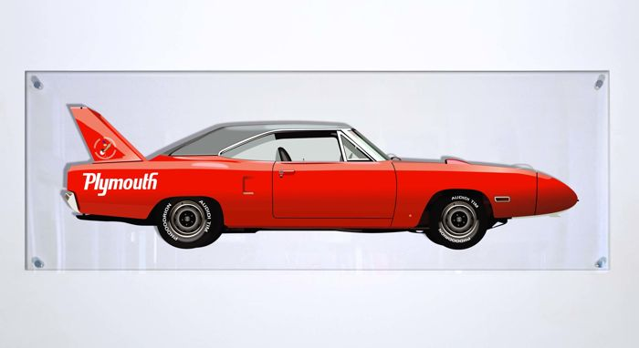 Decoratief object - SL- Halmo Collection Plymouth Superbird - 2018