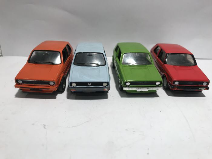 Solido - 1:43 - Lot with 7 models: 7 x VW - Made in France