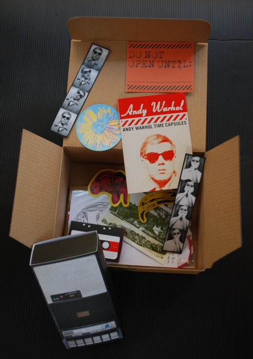 Andy Warhol (after) - Time Capsule kit