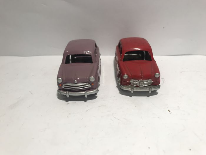 Mercury - Scale 1/43 - 2 x Fiat 1100 - Made in Italy