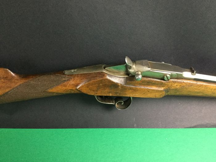 Rifle of Flobert type calibre 6mm ring called saloon circa 1870/80.