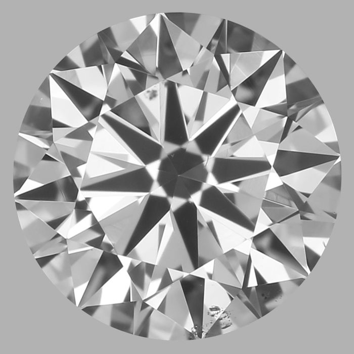 0.50 Carat Round Brilliant Diamond, F SI1 Cert: GIA #2191243924