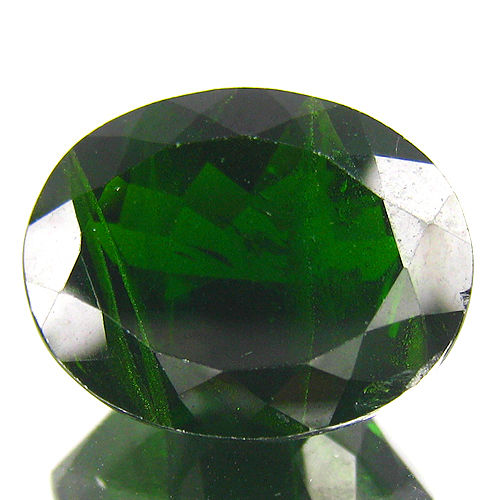Chrome Diopside - Dark Green - 12.01 ct - No reserve