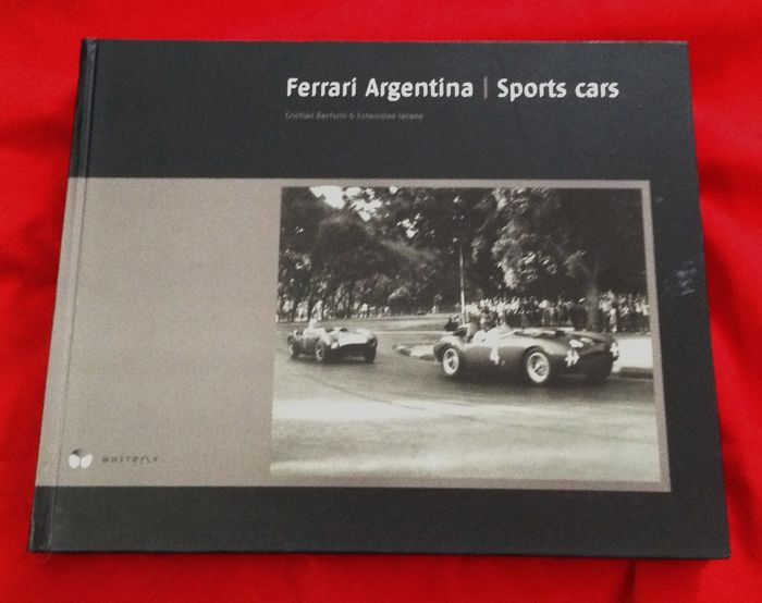 Boeken - excellent book Ferrari Argentina signed numbered - 2008 (1 items)