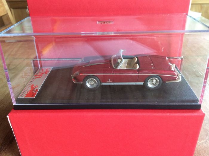 MR Prestige - Schaal 1/43 - Ferrari 400 S.A. Spider - 50/100 pcs - Fari Carenati - Bordeaux