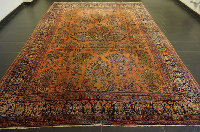 American US Sarough, Iran, 260 x 310 cm