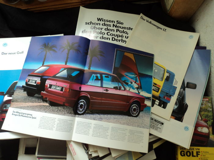 Brochures/ Catalogues - Volkswagen - 1980-1999 (83 items)