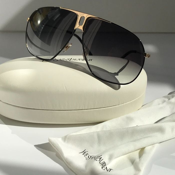 fdc2aa9325352 Yves Saint Laurent - YSL Kanye Sunglasses - Catawiki