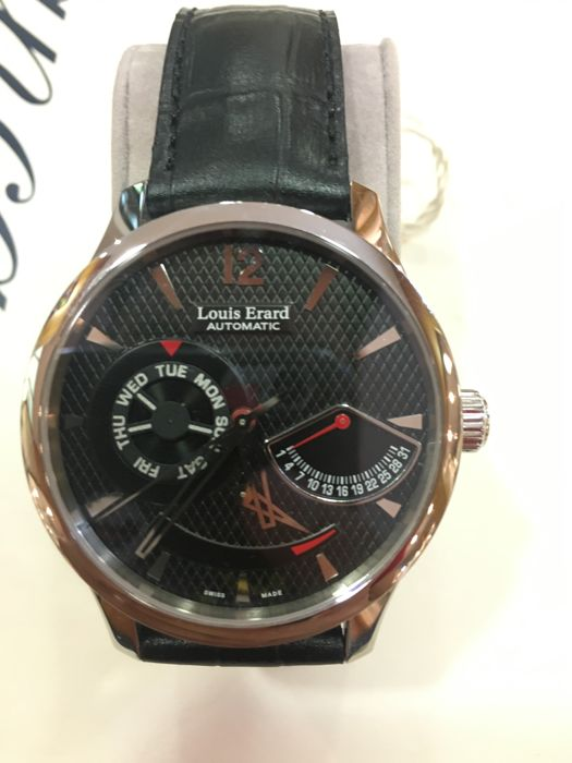 Louis Erard - Retrograde - 87221aa02 - Men - 2000-2010