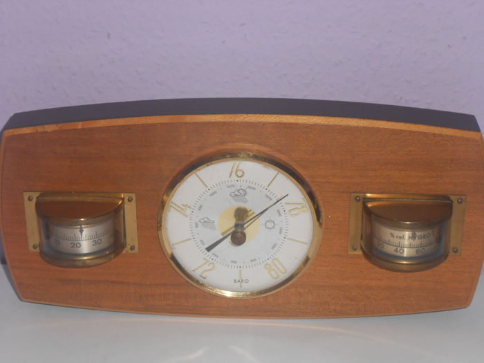 Weatcher Station Baro -Hygrometer ,Barometer and Thermometer Danish design