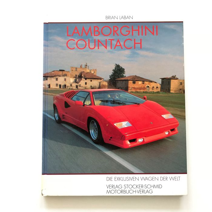 Books - Lamborghini Countach door Brian Laban. - 1990 (1 items)
