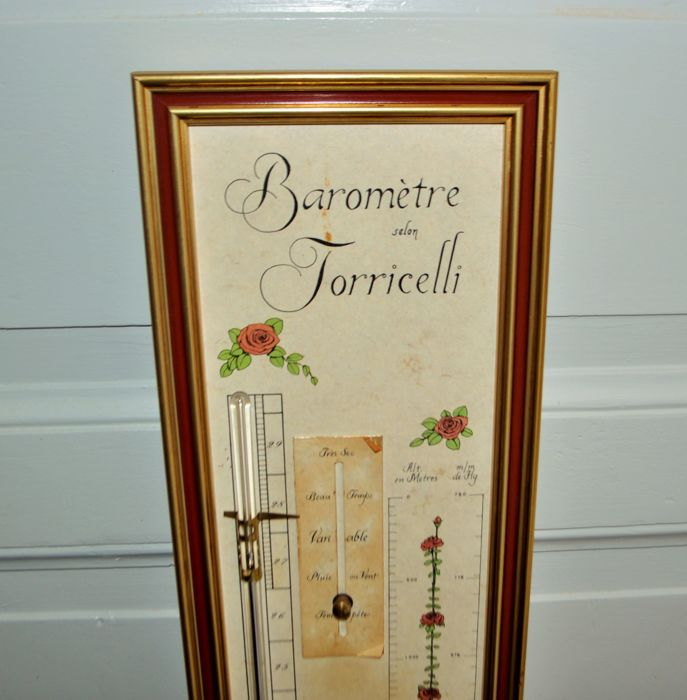 Torricelli Barometer Thermometer