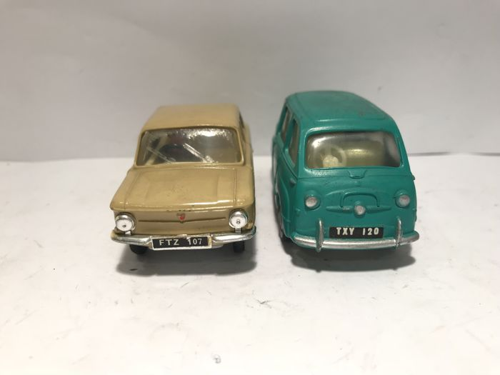 Tri-ang - 1:43 - Spot-On - Fiat Multipla & NSU Prinz 4 - Made in Gt. Britain