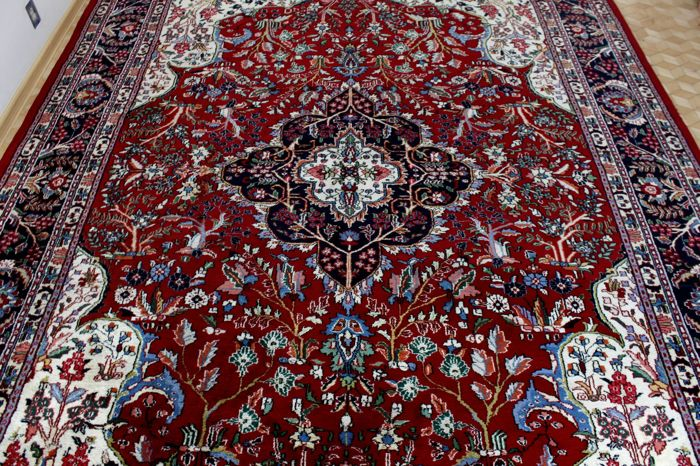 Original Isfahan , India , 352 x 268 cm