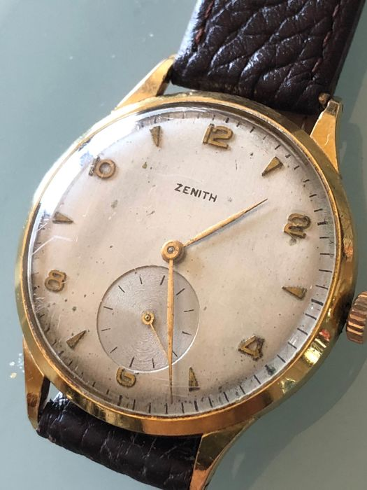 Zenith swiss made años 60