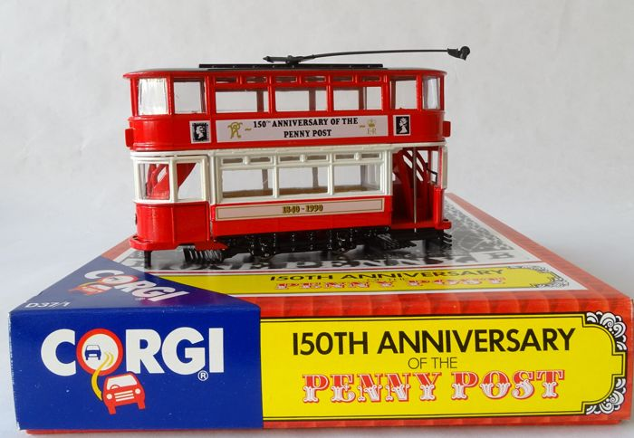 Corgi - Scale 1/76 - Tram - 150th Anniversary of the Penny Post