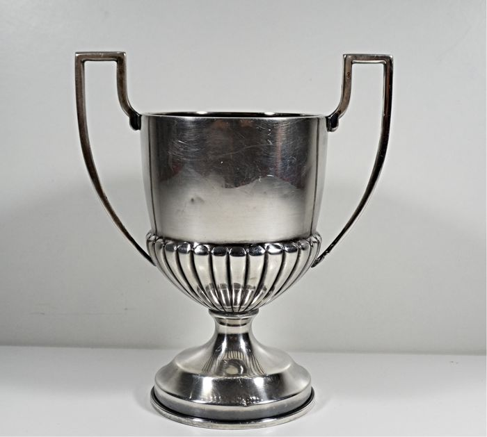 Silver Trophy Cup Ornate 1930´s Whit 2 Mark´s