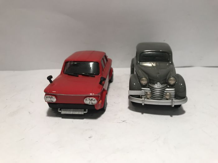 Plumbies - Scale 1/43 - NSU & Opel Kadett - Made in England