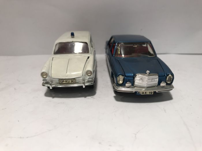 Märklin - 1:43 - VW Variant 1800L & Mercedes Benz 250SL - Made in Germany